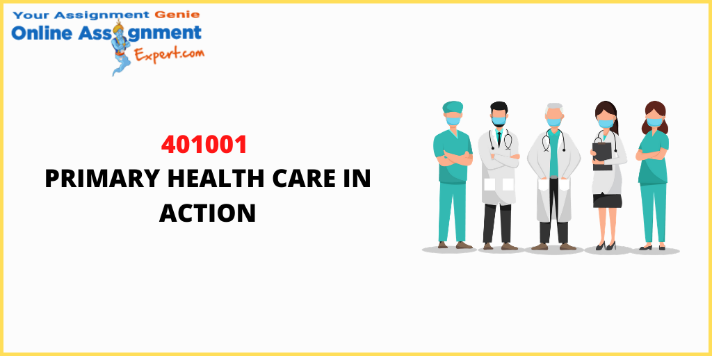 Why Do 401001 Primary Health Care In Action Be Quite Hard To Understand?