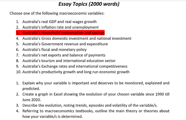 determinants of consumption and saving essay sample