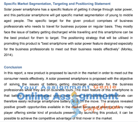 HI5004 marketing management assignment sample