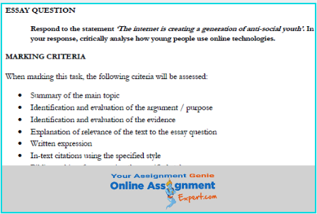 academic communication assignment solution