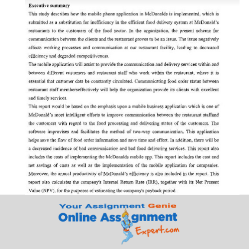 acquisition and restructuring assignment solution