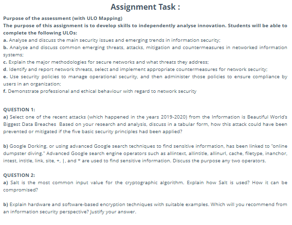 analytica software assignment sample