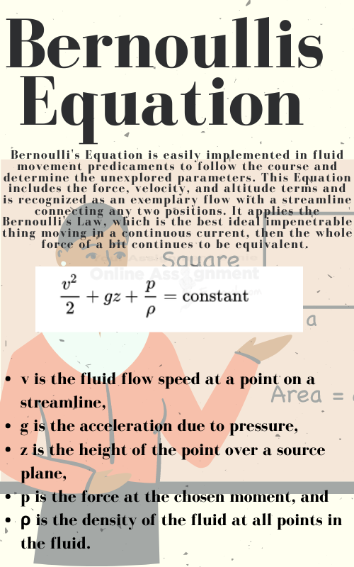 bernoulli's equation theorem