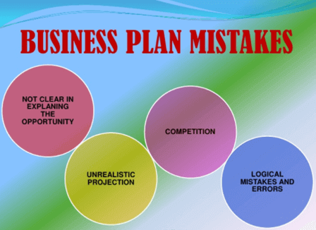 Business Plan mistakes