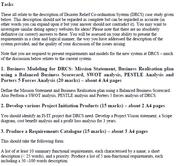 case diagram assignment task