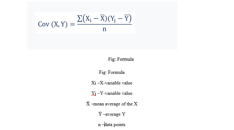 covariance assignment sample