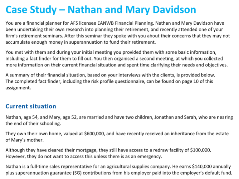 covid 19 nathan and mary davidson case study sample