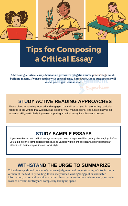 critical essay composing tips