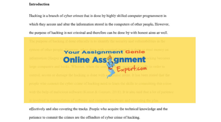 cyber terrorism assignment solution