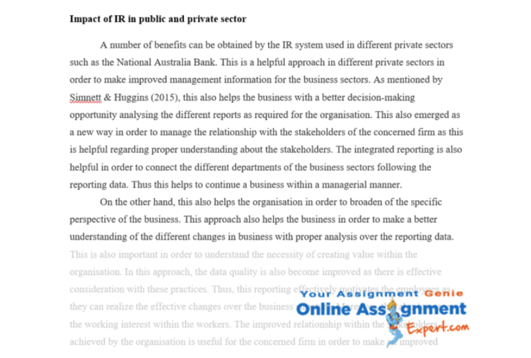 management accounting essay assessment sample