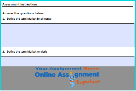 market research swot analysis sample
