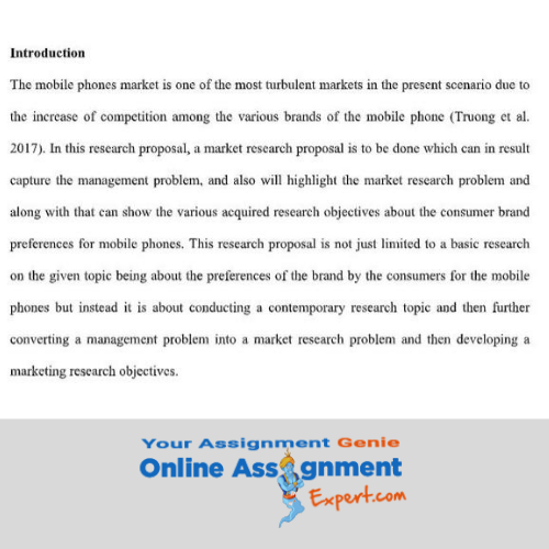 marketing research essentials assignment sample