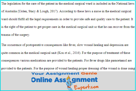 medical science assignment solution