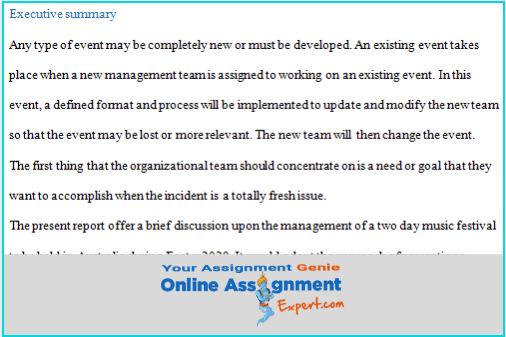 objectives cash management executive summary
