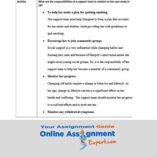 prostate cancer nursing assignment solution