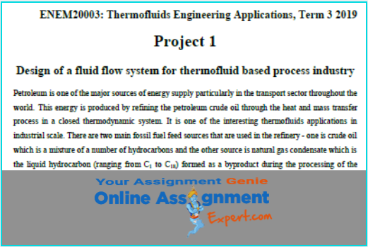 thermodynamics assignment sample